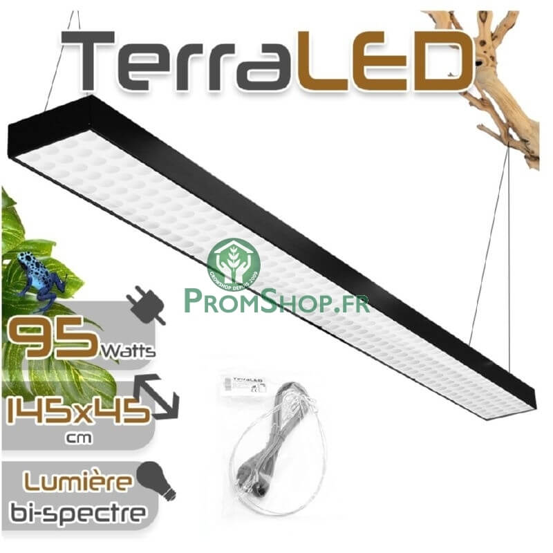 panneau de led horticole pour terrarium 95w. Black Bedroom Furniture Sets. Home Design Ideas