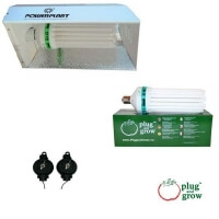 Kit Plug and grow floraison 250W Powerplant