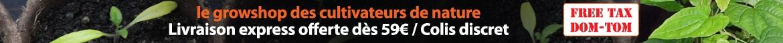 Livraison express offerte dès 59€ / Colis discret