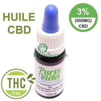 Huile de cb 5% full spectrum 10ml
