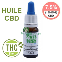 Huile de C.B 15% full spectrum 10ml