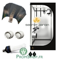 Kit CFL Eco 200W 0.81m² croissance