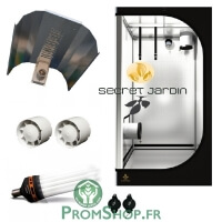 Kit CFL Eco 300W 0.81m² floraison