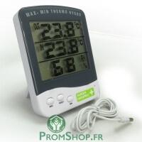 Thermomètre hygromètre Premium