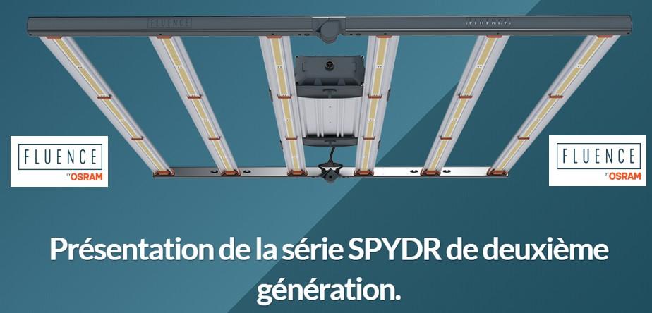 Panneau LED Fluence by OSRAM SPYDR 2x